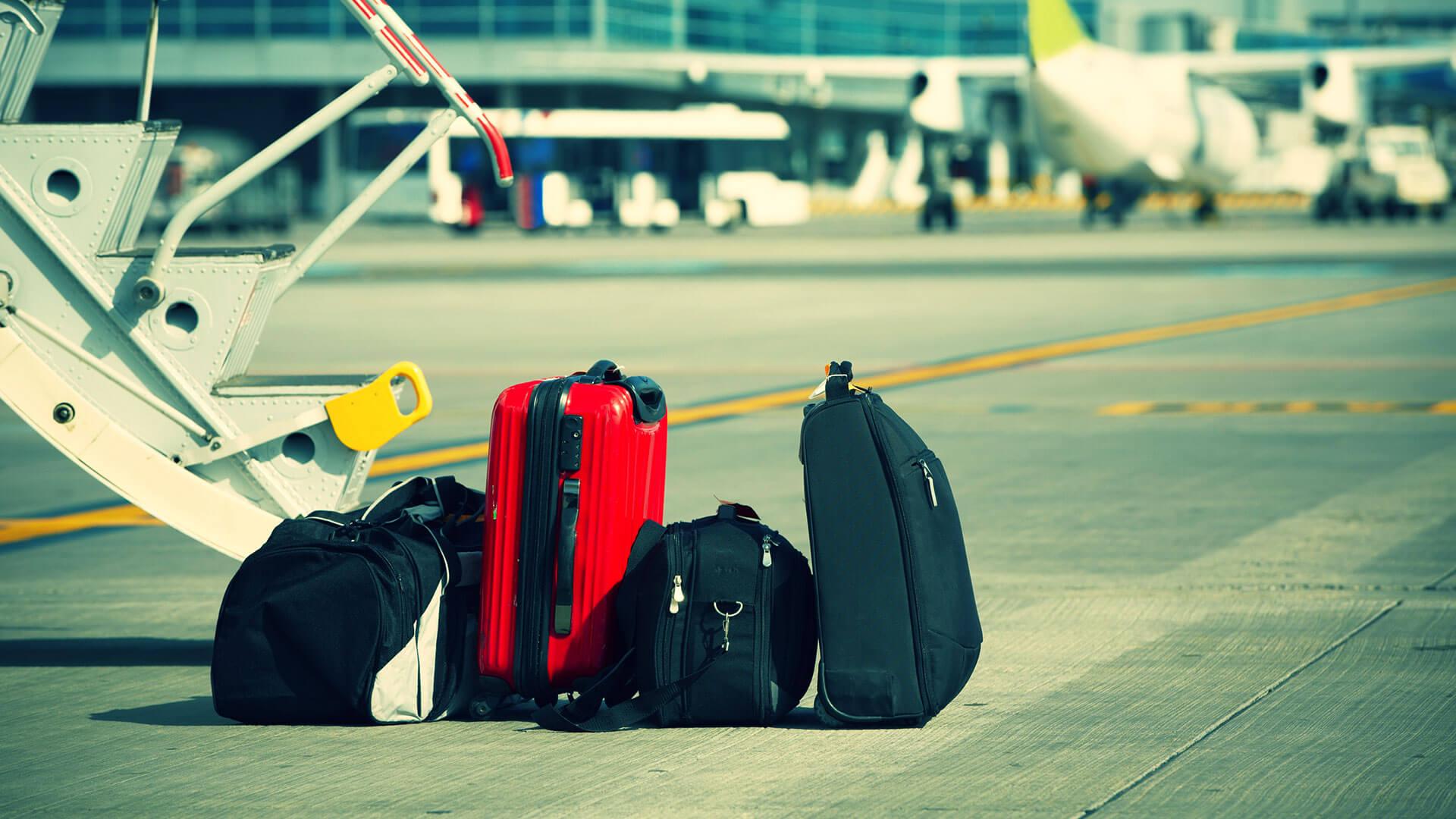 luchthaven bagage alicante valencia